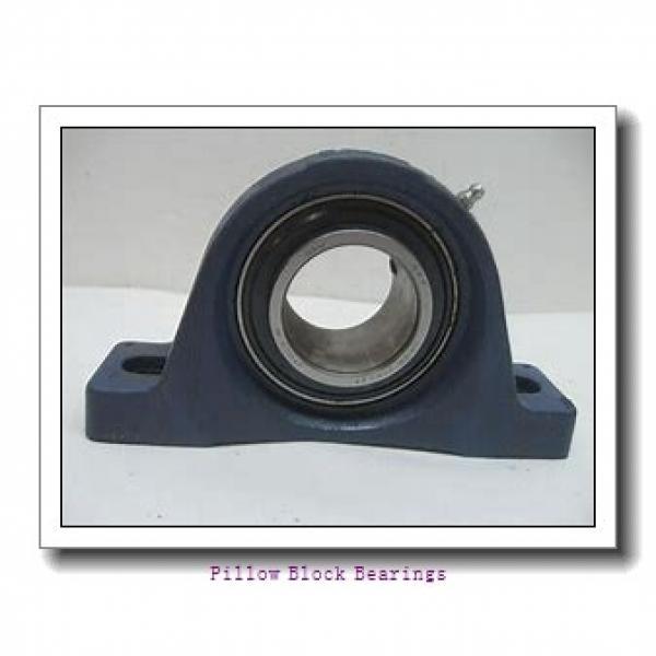2.438 Inch | 61.925 Millimeter x 4 Inch | 101.6 Millimeter x 2.75 Inch | 69.85 Millimeter  DODGE P2B-EXL-207R  Pillow Block Bearings #1 image