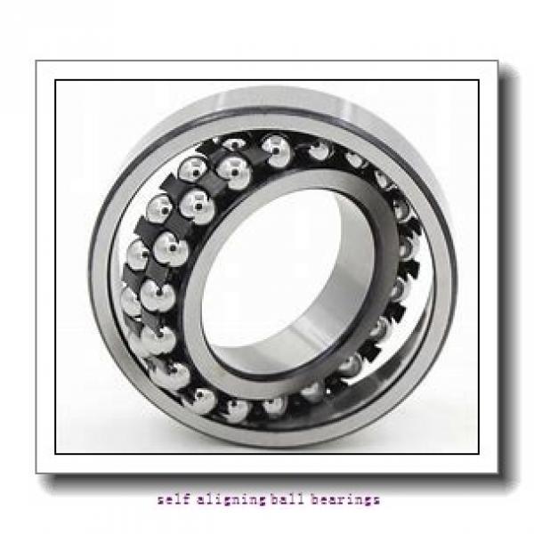 CONSOLIDATED BEARING 2306-K 2RS C/3  Self Aligning Ball Bearings #2 image